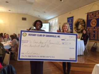Rotary Club Makes Donation